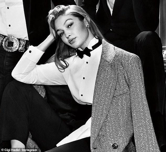 Nuevo look: Gigi Hadid debutó con su mayor campaña de modelaje desde que le dio la bienvenida a su hija Khai con el rockero Zayn Malik hace nueve meses.