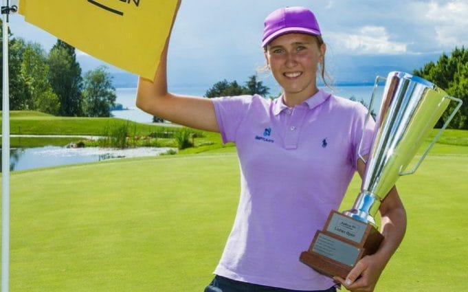 'He estado esperando esto por un tiempo': el sueño de una adolescente se hace realidad cuando Pia Babnik, de 17 años, gana el Jabra Ladies Open