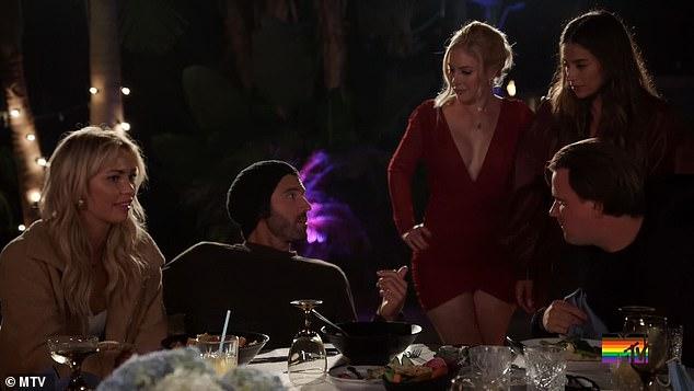 Spat: Brody Jenner y Heidi Montag tuvieron una acalorada discusión esta semana en el episodio del miércoles de The Hills: New Beginnings después de que Jenner, de 37 años, trató de restringir el 'apagón' de alcohol de su novia Amber.