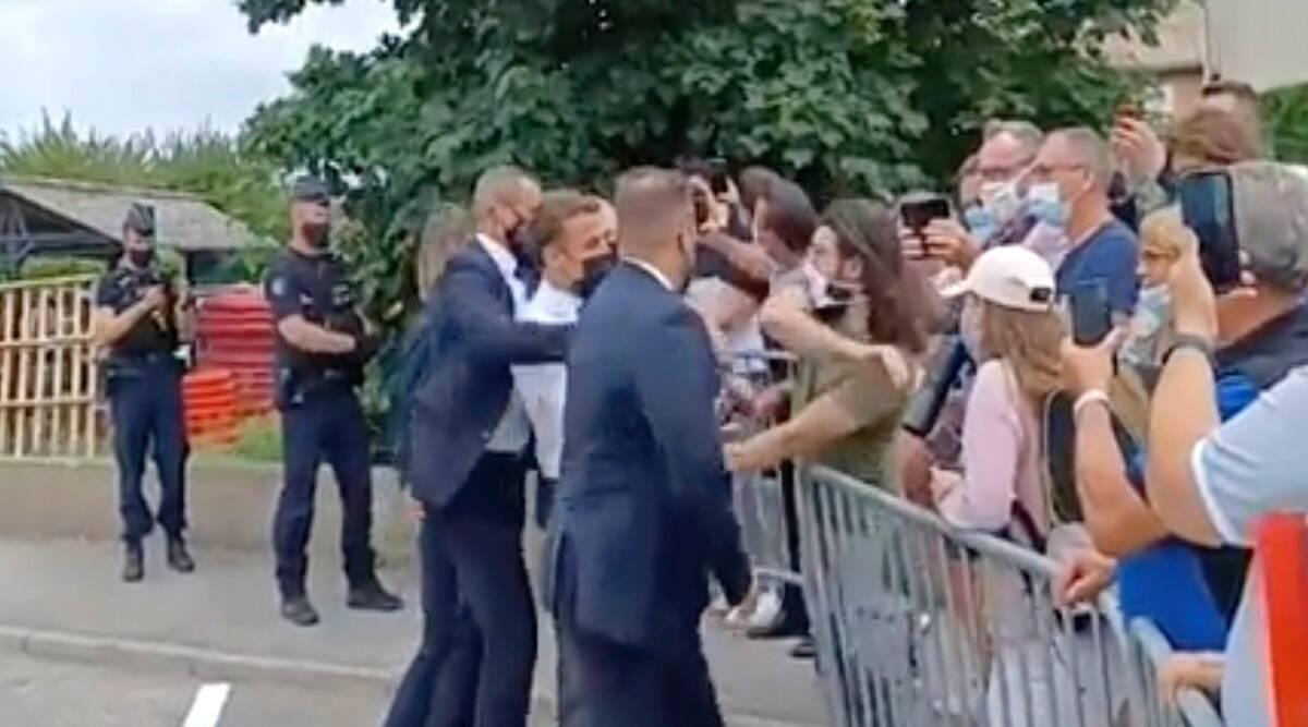 Hombre que abofeteó al presidente francés Emmanuel Macron para ir a juicio