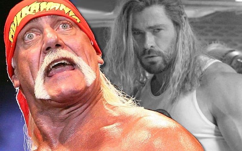 Hulk Hogan aturdido por Chris Hemsworth fortaleciéndose para la película biográfica de Netflix