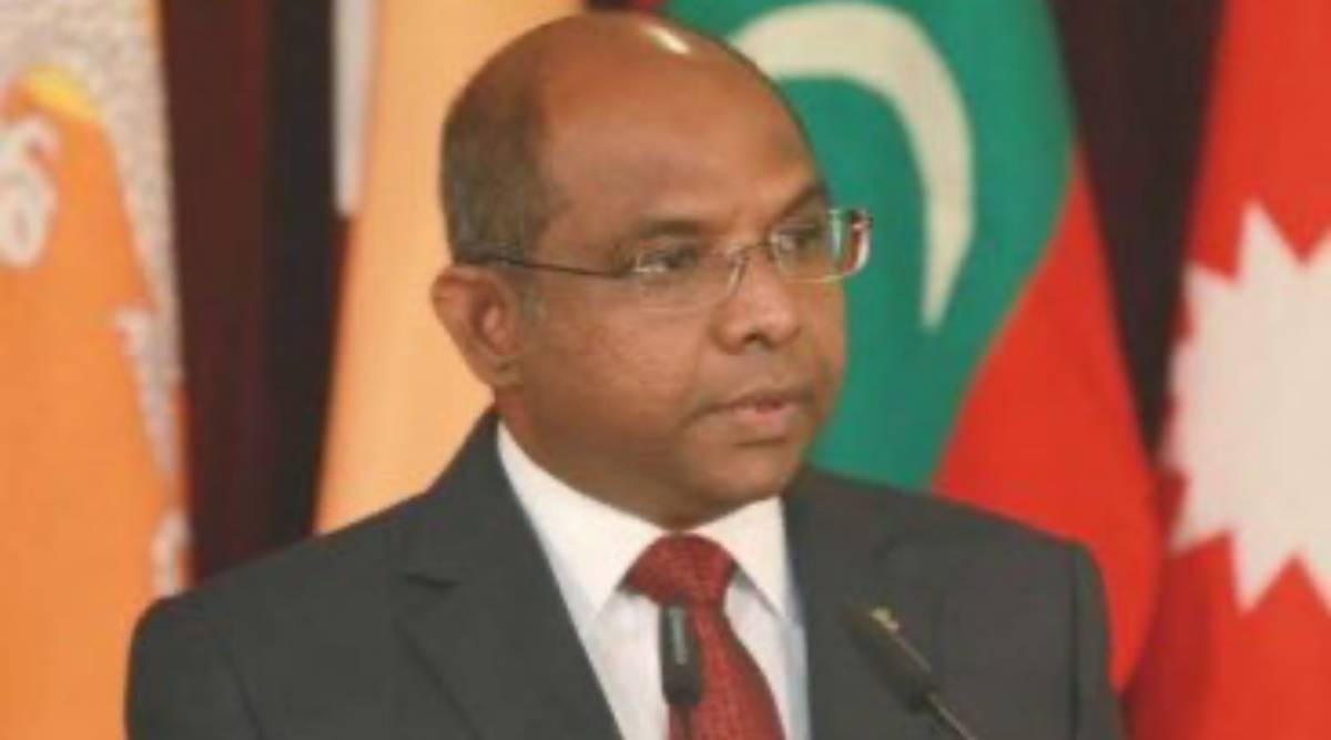 India a su lado, el ministro de Maldivas Abdulla Shahid es presidente de la AGNU