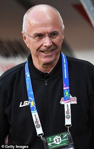 Sven-Goran Eriksson (en la foto) advirtió a Gareth Southgate que solo será juzgado por los resultados de la Eurocopa 2020