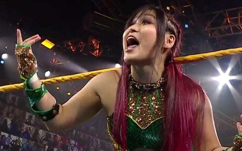 Io Shirai regresa a WWE NXT