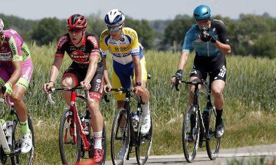 Jan-Willem van Schip descalificado del Tour de Bélgica por usar manillares aerodinámicos