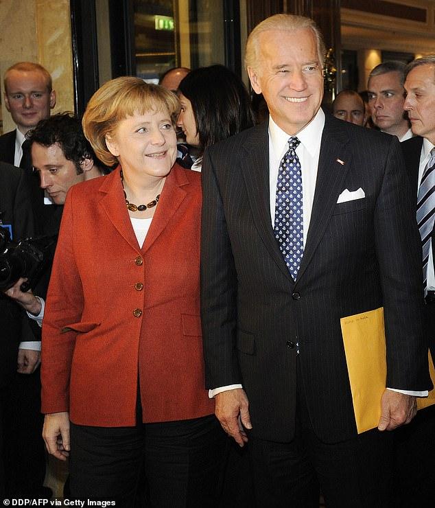 La canciller alemana, Angela Merkel, visitará al presidente Joe Biden en Washington el 15 de julio para afirmar