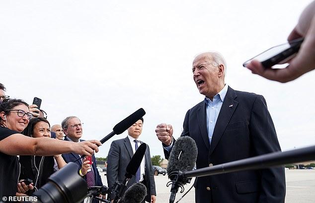 Biden dijo a los periodistas que lo haría, 'dejando en claro a Putin y a China que Europa y Estados Unidos son estrechos', durante su viaje de ocho días a Europa.