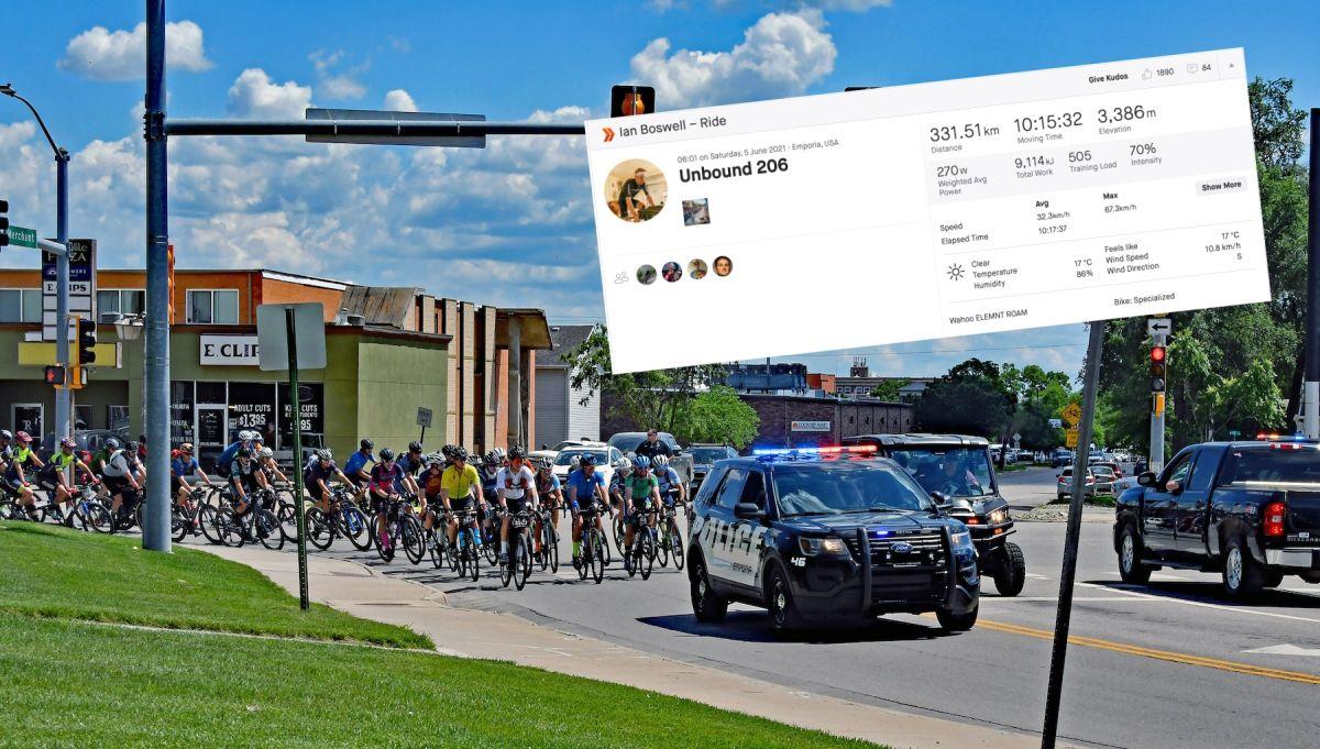Las estadísticas de Strava revelan los esfuerzos brutales detrás de Unbound Gravel 2021 |  Ciclismo semanal