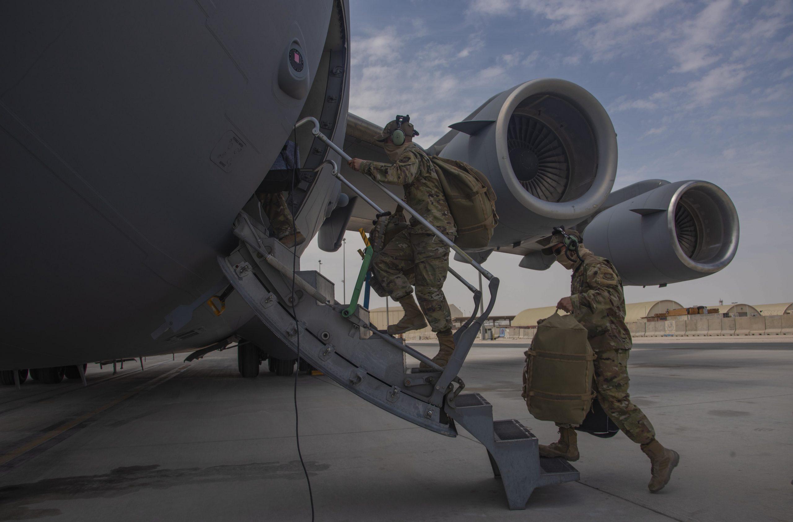 Las fuerzas estadounidenses están a la mitad de su retirada de Afganistán.