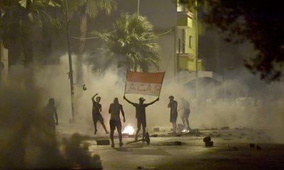 Las protestas contra la brutalidad policial se extienden por la capital tunecina