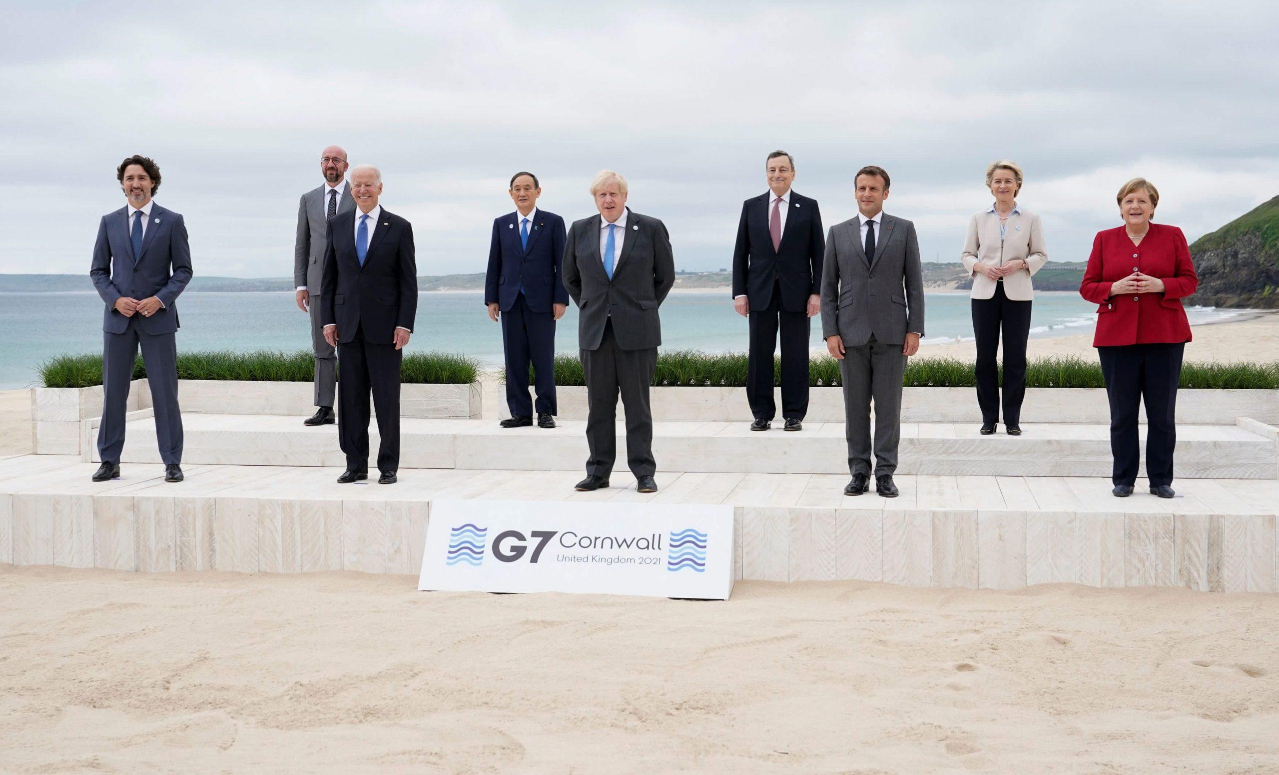 Los líderes de Biden y del G-7 respaldarán un impuesto corporativo mínimo global de al menos el 15%