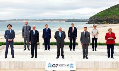 Los líderes del G7 acordaron los llamados del presidente de los Estados Unidos, Joe Biden, para unirse para competir con China.