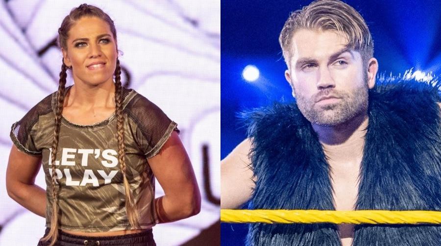 Marina Shafir y Tyler Breeze han sido liberados por WWE