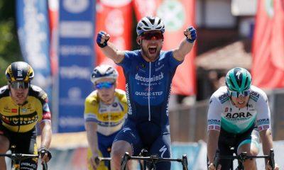 Mark Cavendish se muestra tímido sobre la inclusión del Tour de Francia después de la victoria de etapa del Tour de Bélgica