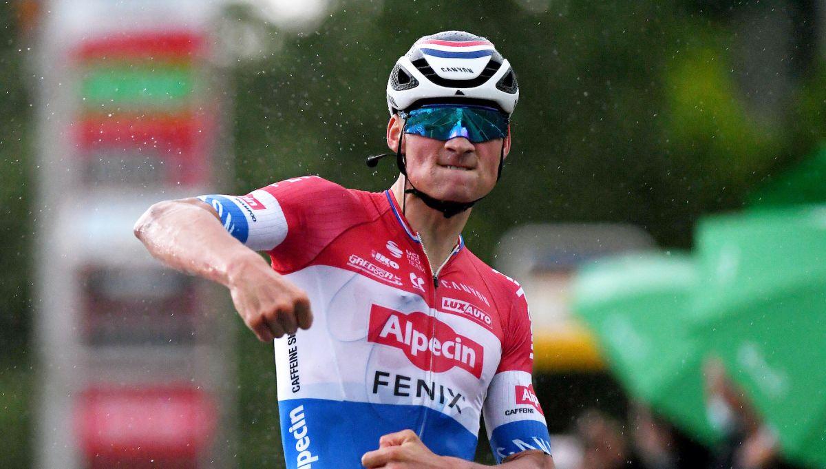 Mathieu van der Poel: fue una etapa súper divertida, especialmente con la lluvia