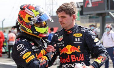 Max Verstappen elogia a Sergio Pérez por dar un paso al frente en su ausencia