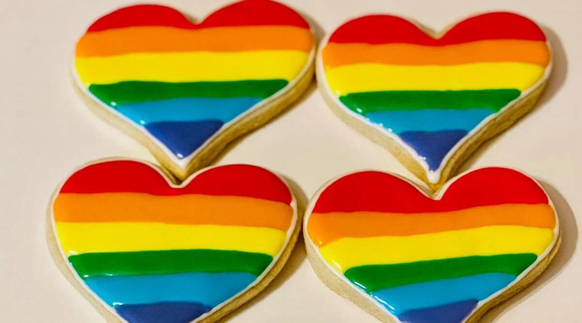 pride cookies, pride month 2021, pride month special stories, indianexpress.com, indianexpress, confections, sweetartcookies,
