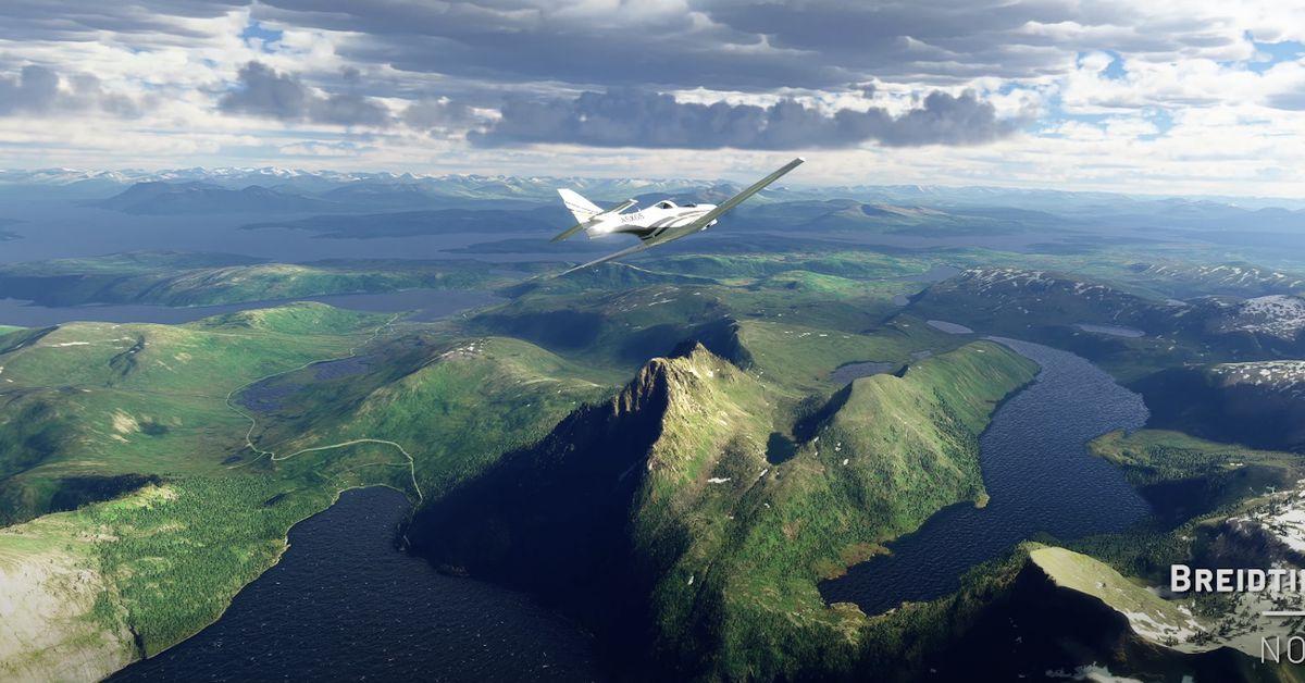 Microsoft Flight Simulator agrega hermosas vistas nórdicas en su última actualización