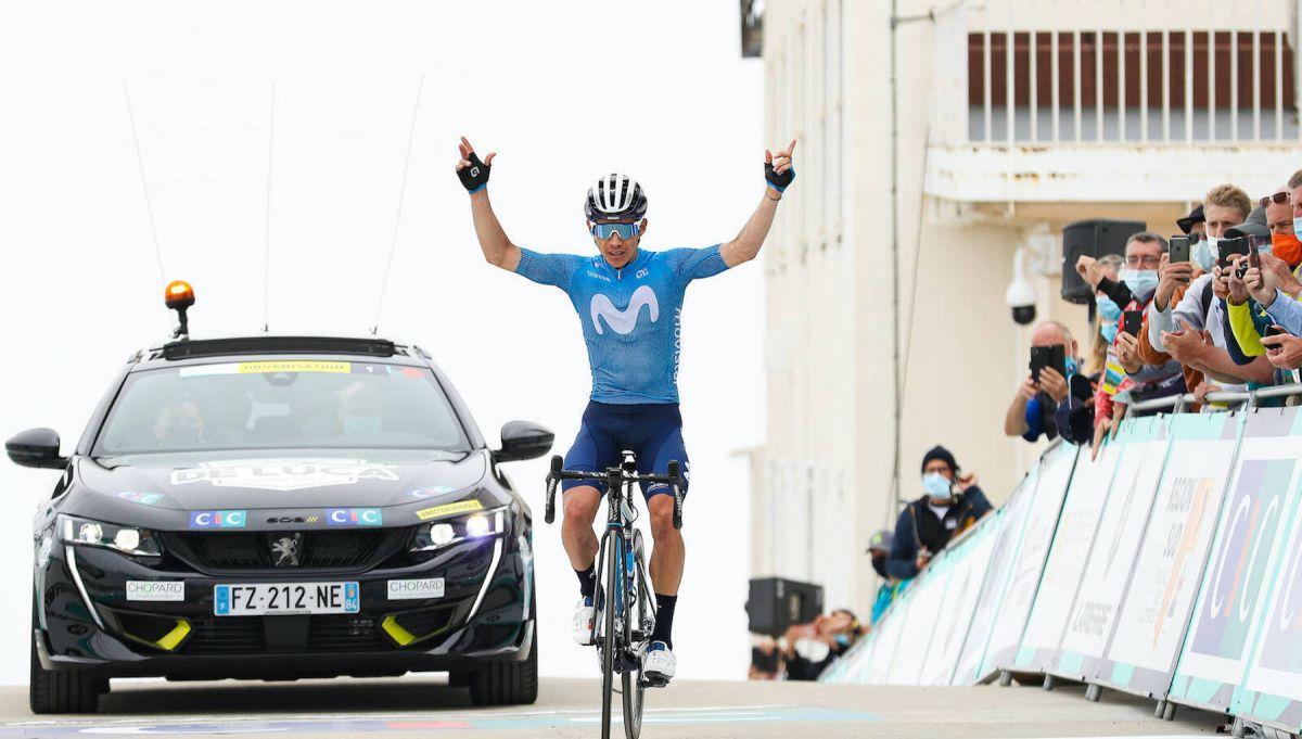 Miguel Ángel López marca el mejor tiempo en el Mont Ventoux desde 2004