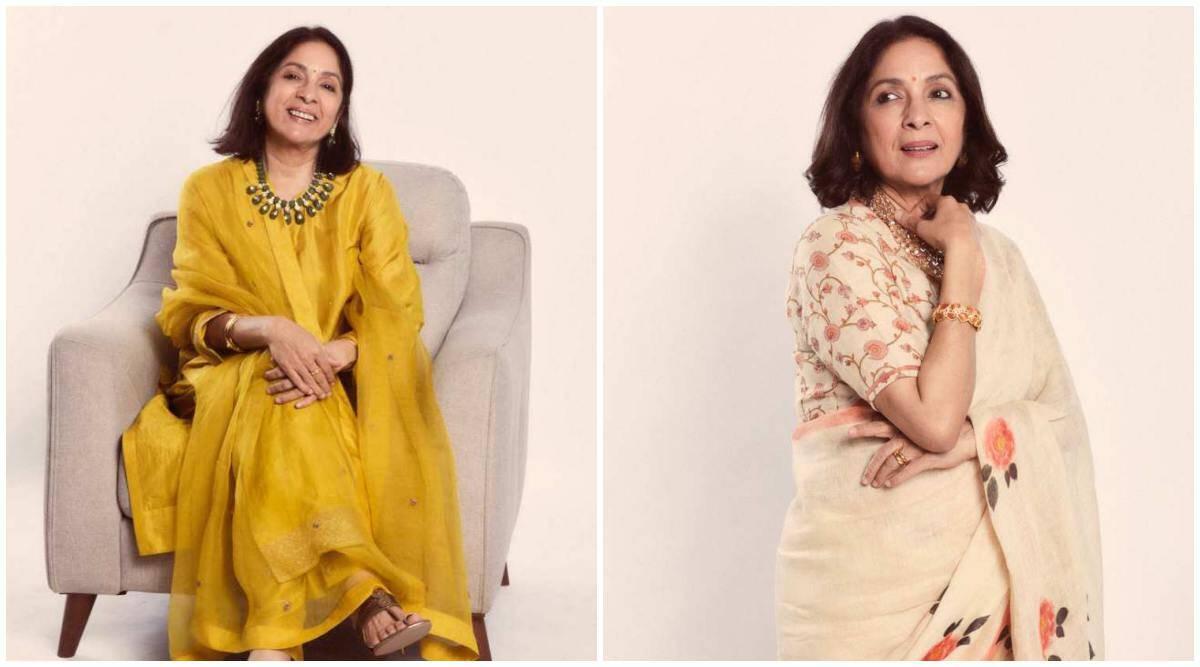 Moda celebridad: Neena Gupta luce elegante;  da grandes objetivos de estilo