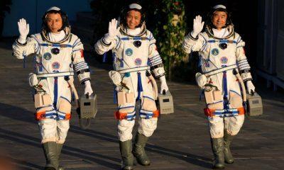 Chinese spaceship, China spacecraft, China space crew, China space mission, China 3 months space mission, Space news, China space news,