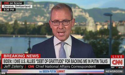 Jeff Zeleny de CNN dijo el miércoles que nunca había visto a un presidente tan controlado por sus asesores de medios como Biden, y señaló que había cubierto a Trump, Obama y Bush.  Zeleny dijo que los ayudantes de Biden le 'gritarían' que dejara de hablar