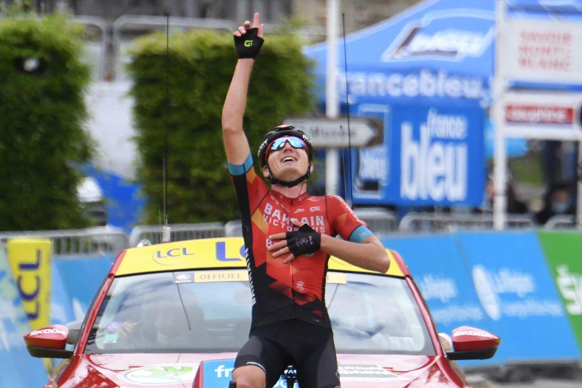'Nunca se había sentido tan fácil en la bicicleta': Mark Padun duplica el conteo de victorias de Dauphiné y se lleva el maillot de lunares por si acaso