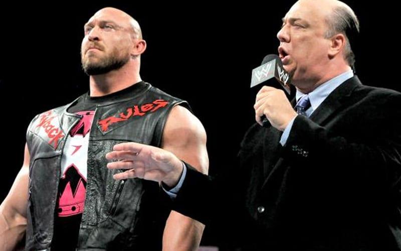 Paul Heyman dice que sabía que Ryback nunca sería un éxito en la WWE