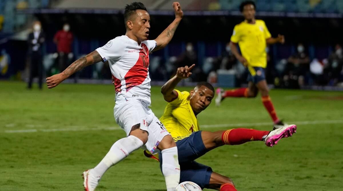 Perú vence 2-1 a Colombia para mantener vivas las esperanzas en la Copa América
