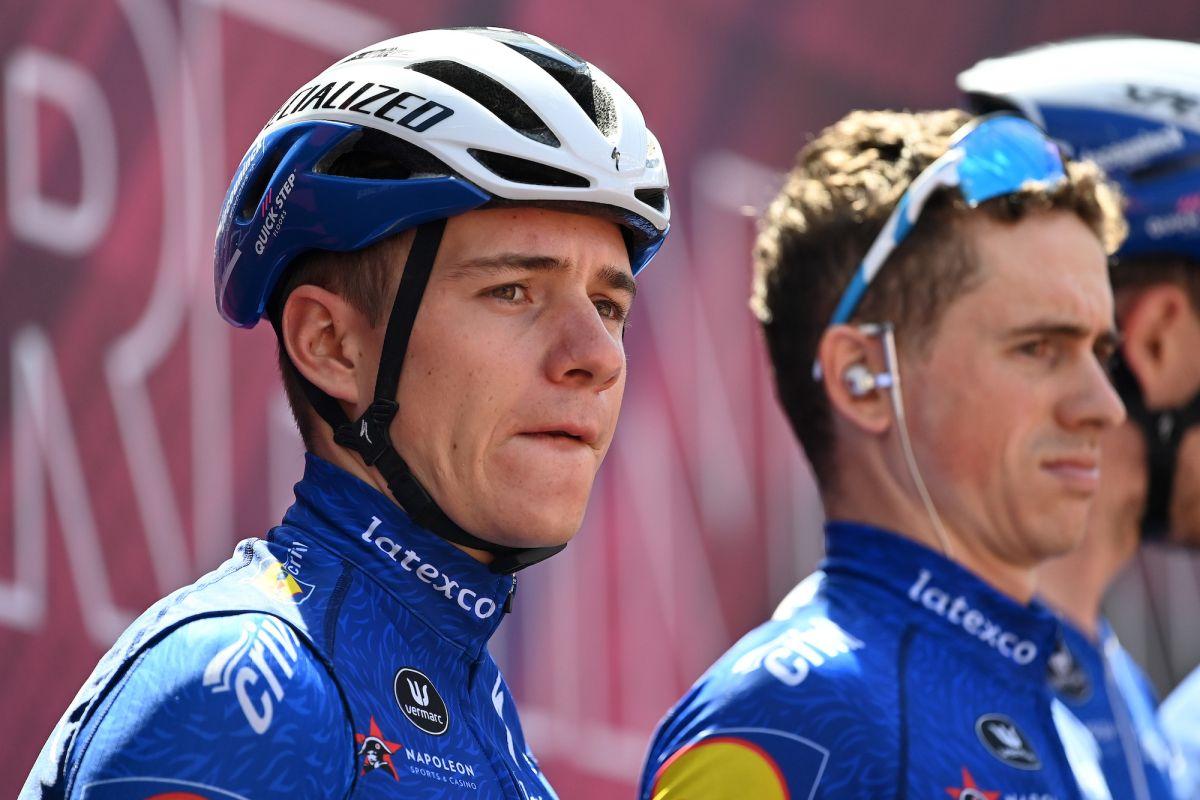 Remco Evenepoel vuelve a competir en Bélgica junto a Mark Cavendish