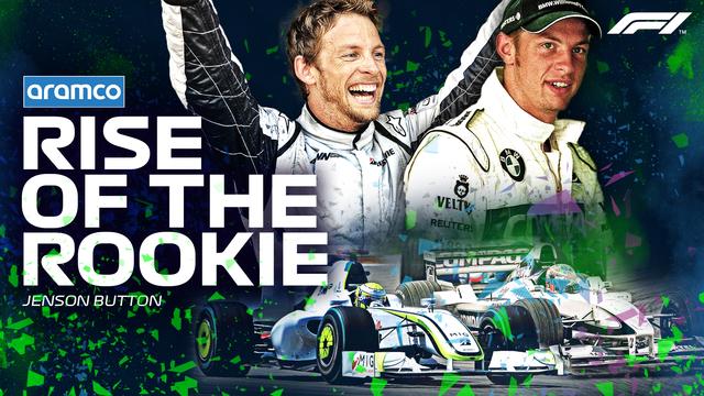 Revive el inicio de F1 de Jenson Button con Williams en Aramco Presents: Rise of the Rookie