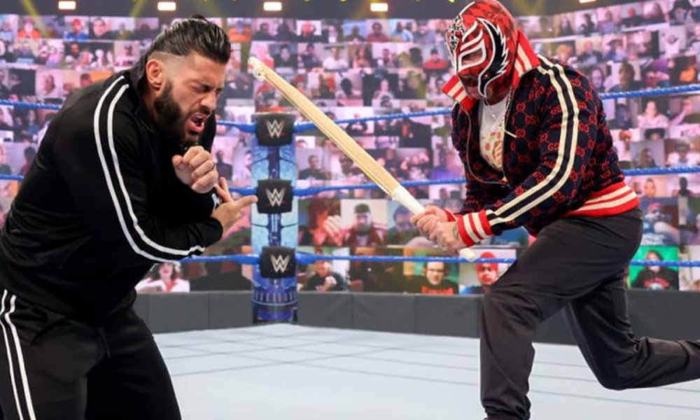 Rey Mysterio vs.Roman Reigns Hell in a Cell Match se ha trasladado a WWE SmackDown