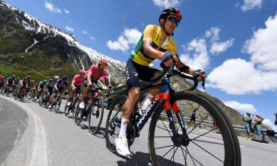 Richard Carapaz sobrevive para ganar la general del Tour de Suisse
