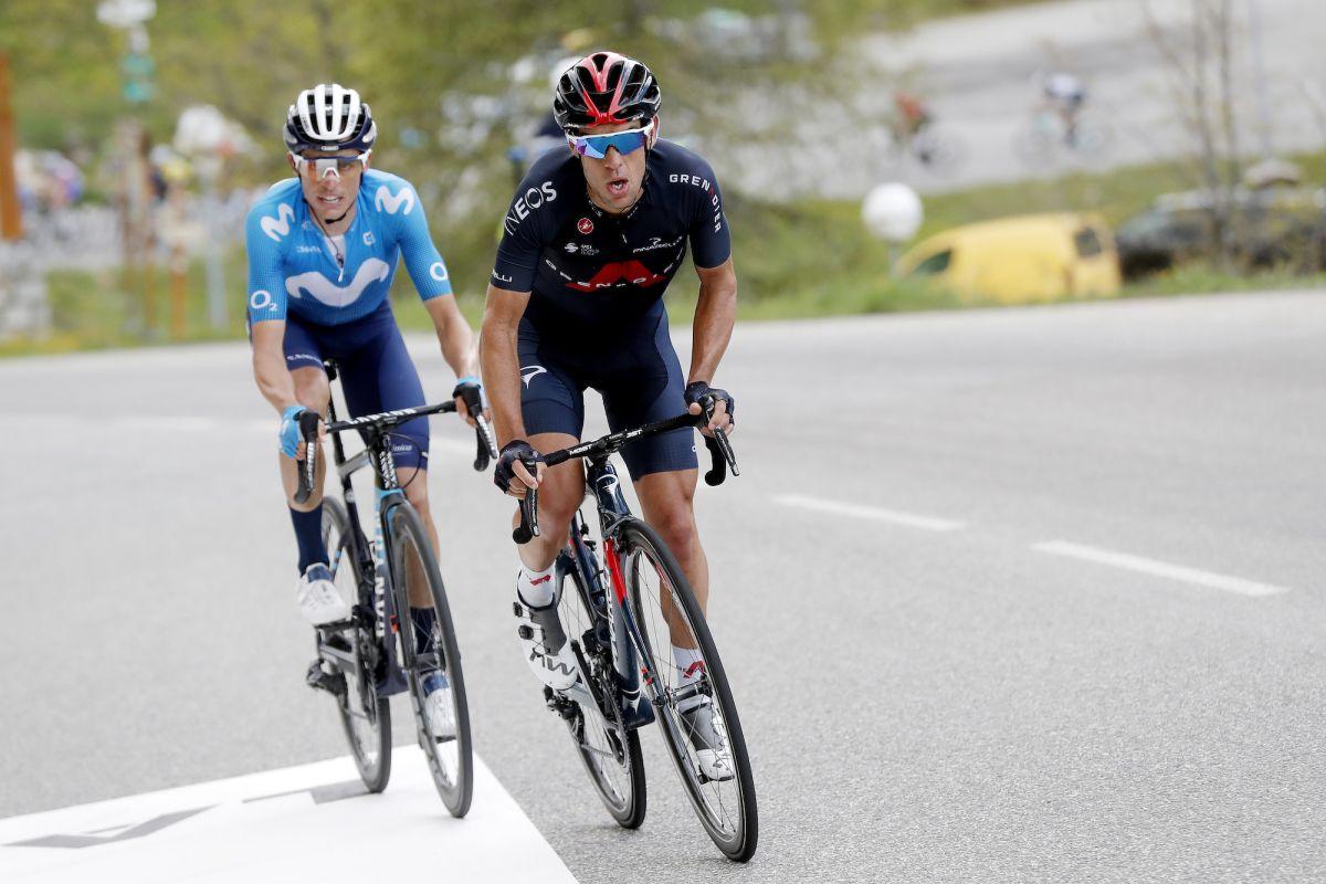 Richie Porte se convierte en líder de la carrera del Critérium du Dauphiné y Mark Padun gana la montañosa etapa siete