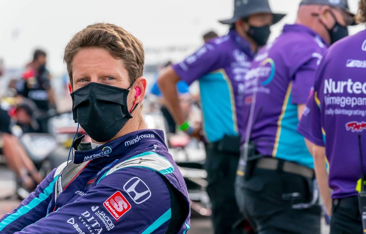 Romain Grosjean probará la carrera ovalada después de ver Indy 500