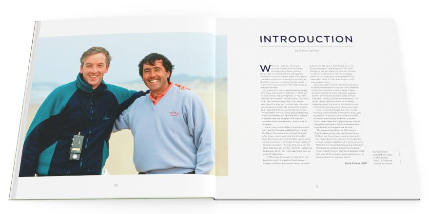 Saborea la vida y los tiempos de Seve en un nuevo y glorioso libro - Golf News    Revista de golf