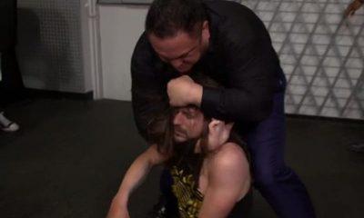 Samoa Joe asfixia a Adam Cole durante su primera noche de regreso en WWE NXT
