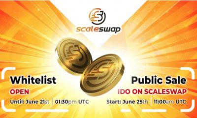 Scaleswap anuncia la apertura de la lista blanca y la fecha de lanzamiento de IDO