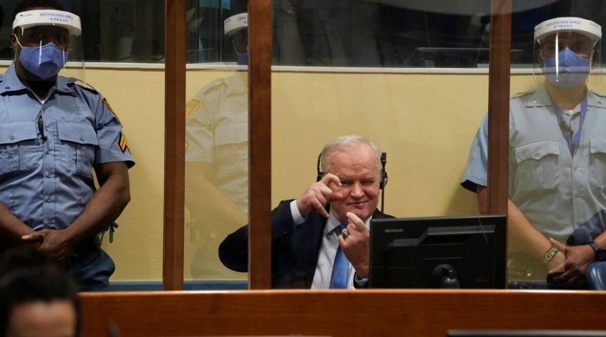 Se confirma la condena del jefe militar serbio Ratko Mladic por genocidio