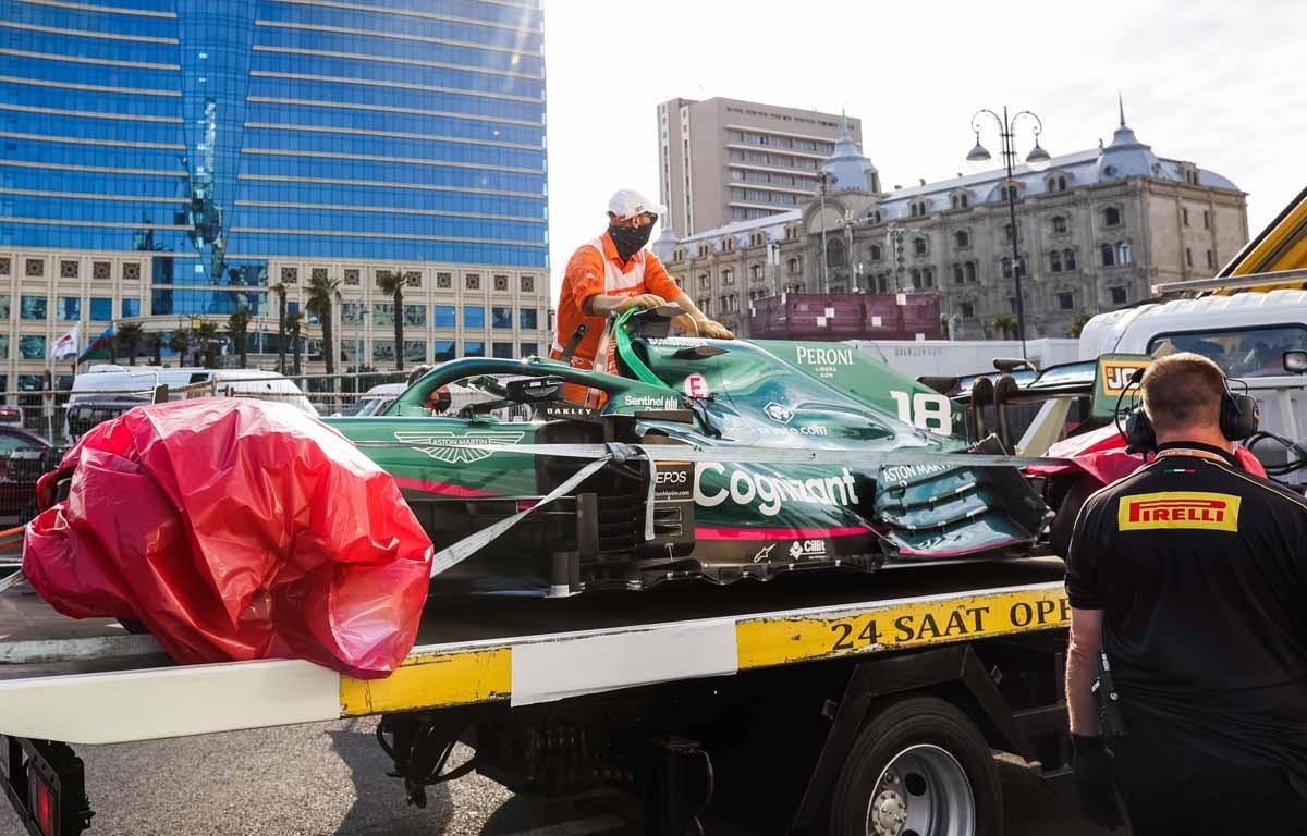 Sebastian Vettel se preguntó '¿quién sigue?'  después de la caída de Bakú