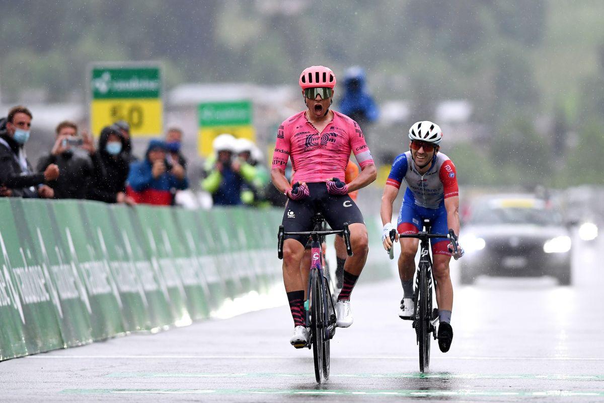 Stefan Bissegger logra el éxito en la escapada en la cuarta etapa del Tour de Suisse 2021 mientras Van der Poel se mantiene amarillo