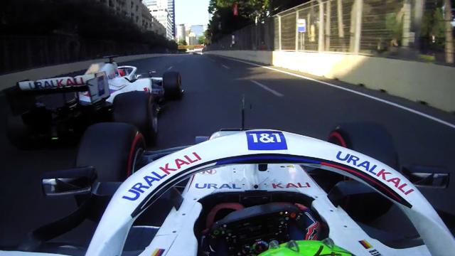 Steiner dice que el dúo de Haas ha 'despejado el aire' después de que Schumacher se fuera furioso en la última vuelta Mazepin Jink en Bakú