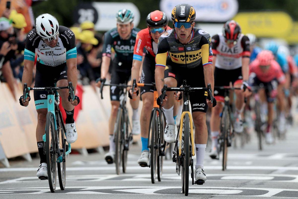 Tour de Francia: Roglič ocupa el tercer lugar en la bicicleta de su compañero de equipo cuando Kruijswijk se rompe y tres pilotos de Jumbo-Visma ruedan en 16 minutos menos