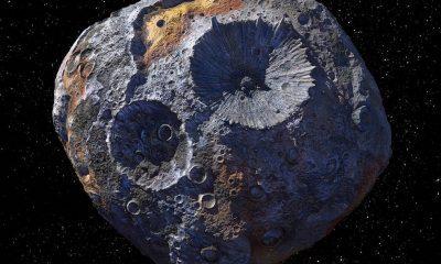 La NASA se dirigirá al asteroide 16 Psyche en 2022, que durante mucho tiempo se pensó que era el núcleo de un planeta muerto que podría contener tantos metales que podría valer 10.000 billones de dólares.  Un nuevo estudio sugiere que es más probable que sea un montón de escombros