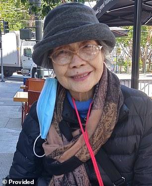 Anh Taylor, de 94 años, resultó herida después de que un hombre que acababa de salir de la cárcel la apuñalara 'varias' veces en un ataque no provocado en San Francisco.