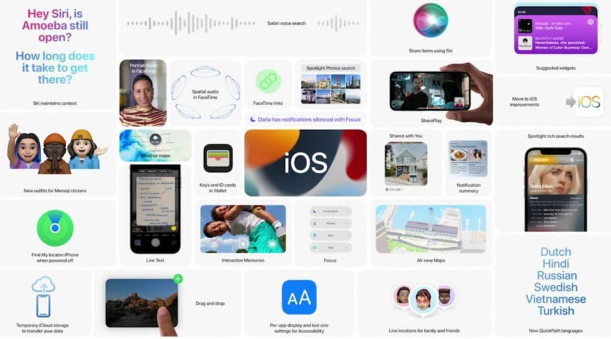 Apple iOS 15, ios 15, ios 15 wwdc 2021,