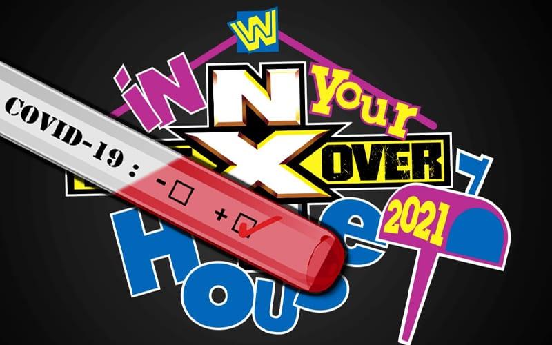 WWE cambia la política de pruebas de COVID para NXT TakeOver: In Your House
