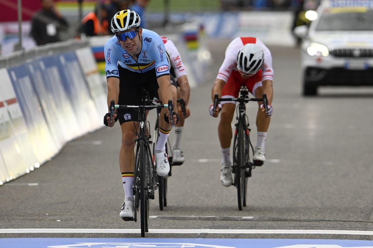 Wout van Aert seleccionado para participar en los Juegos Olímpicos de Tokio