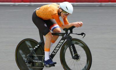 Annemiek van Vleuten no se equivoca al ganar la medalla de oro en la contrarreloj olímpica de Tokio 2020