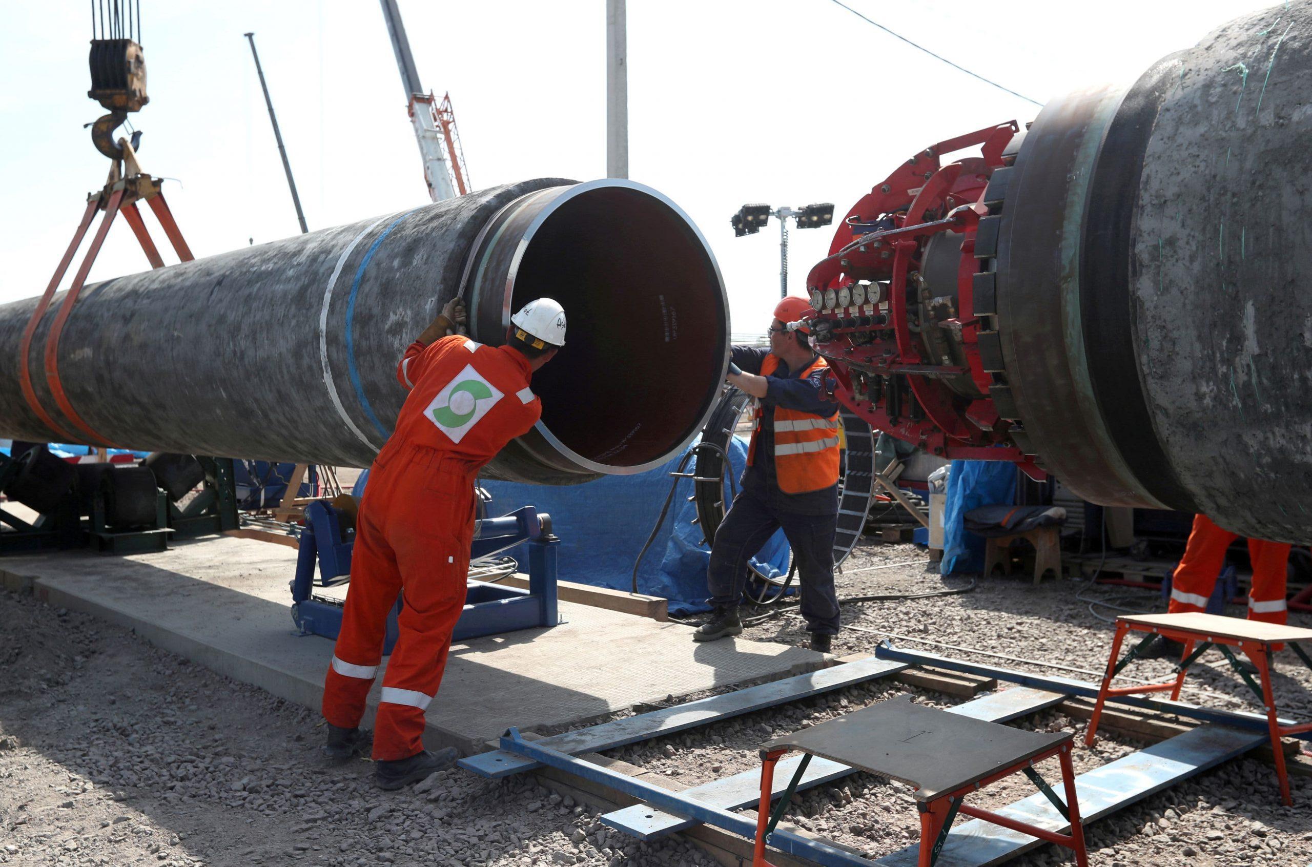 Biden y Merkel para discutir el polémico gasoducto ruso Nord Stream